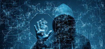 Hacker preparing a ransomware attack