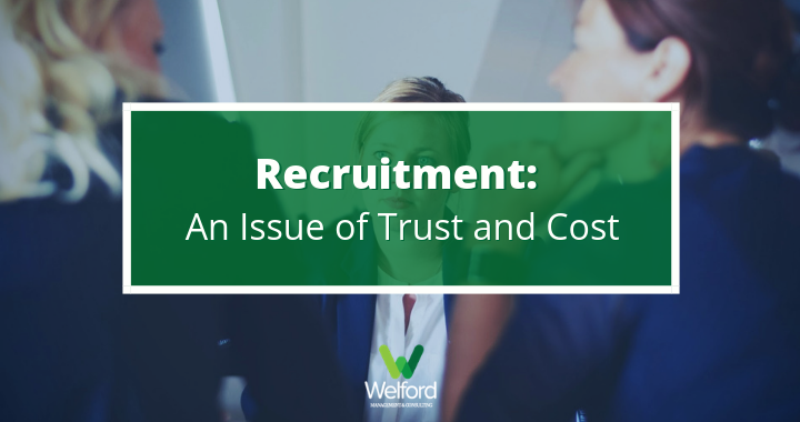 Recruitment: An issue of trust (and cost)